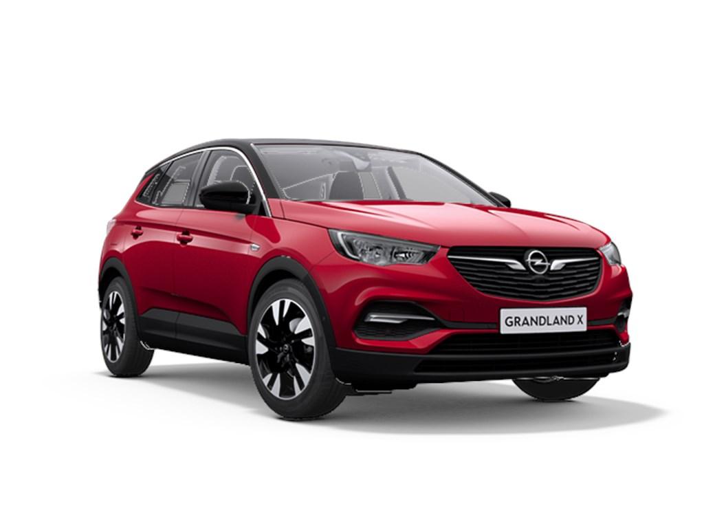 Opel-Grandland-X-Rood-12-Benz-130pk-Automaat-6-Innovation-Nieuw-Navigatie-Parkeersensoren-Elektr-koffer-