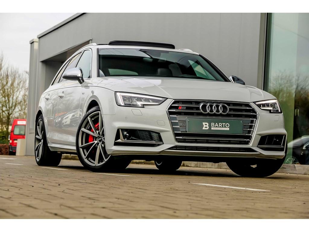 Tweedehands te koop: Audi S4 Wit - RS zetels - B0 - Pano dak - SportDiffer - Var Ophaning - Dyn Stuurinr- Matrix