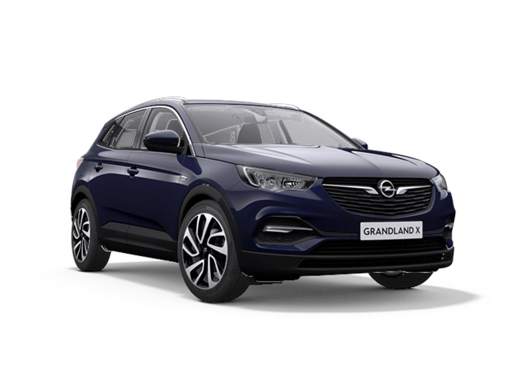 Tweedehands te koop: Opel Grandland X Purper - 12 Benz 130pk Automaat 6 Innovation - Nieuw - Navigatie - Parkeersensoren - Elektr koffer -