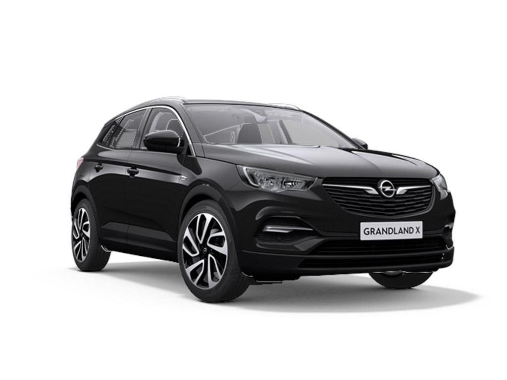 Opel-Grandland-X-Zwart-12-Benz-130pk-Automaat-6-Innovation-Nieuw-Navigatie-Parkeersensoren-Elektr-koffer-