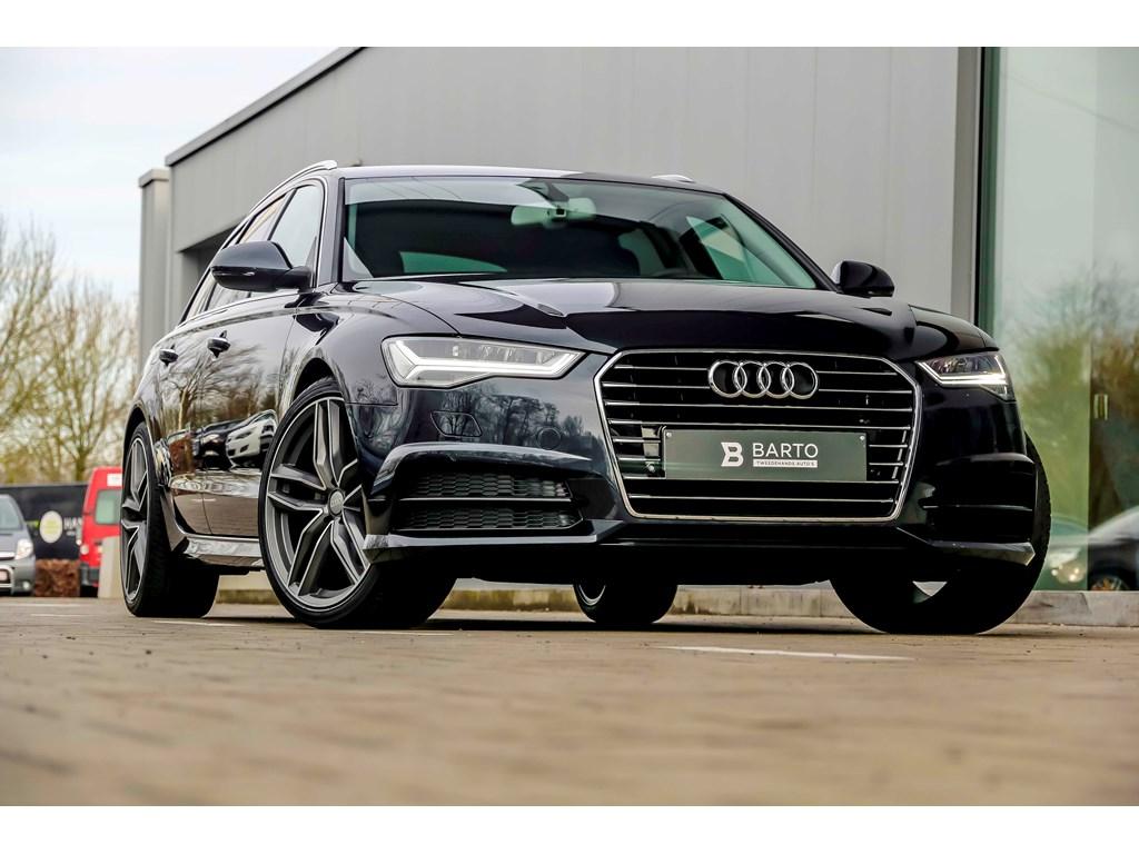 Tweedehands te koop: Audi A6 Blauw - 190pk - Full LED - 20 wielen - Luchtvering - Lederen Sportzetels elect verst - Camera -