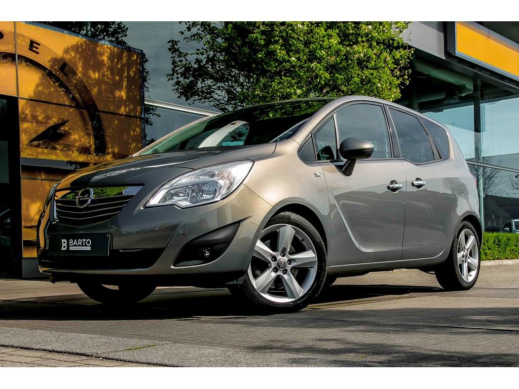 Opel-Meriva-Bruin-17d-110pk-Navi-Auto-Airco-Trekhaak-Parksens-va-