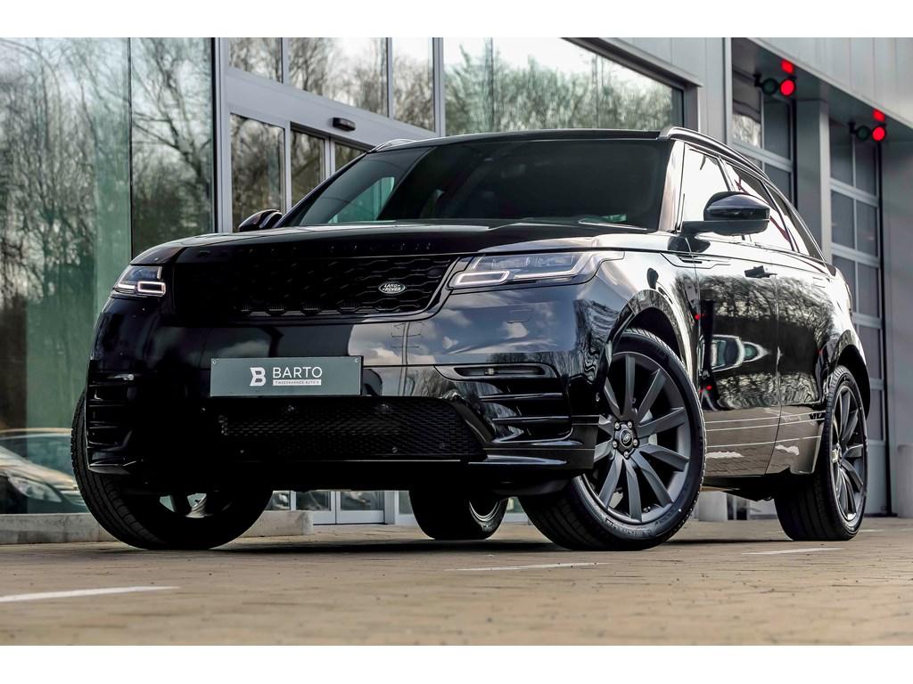 Tweedehands te koop: Land Rover Range Rover Velar Zwart - R-Dynamic - Luchtvering - 21 - 360 Cam - Trekhaak - TVs Achteraan - D240