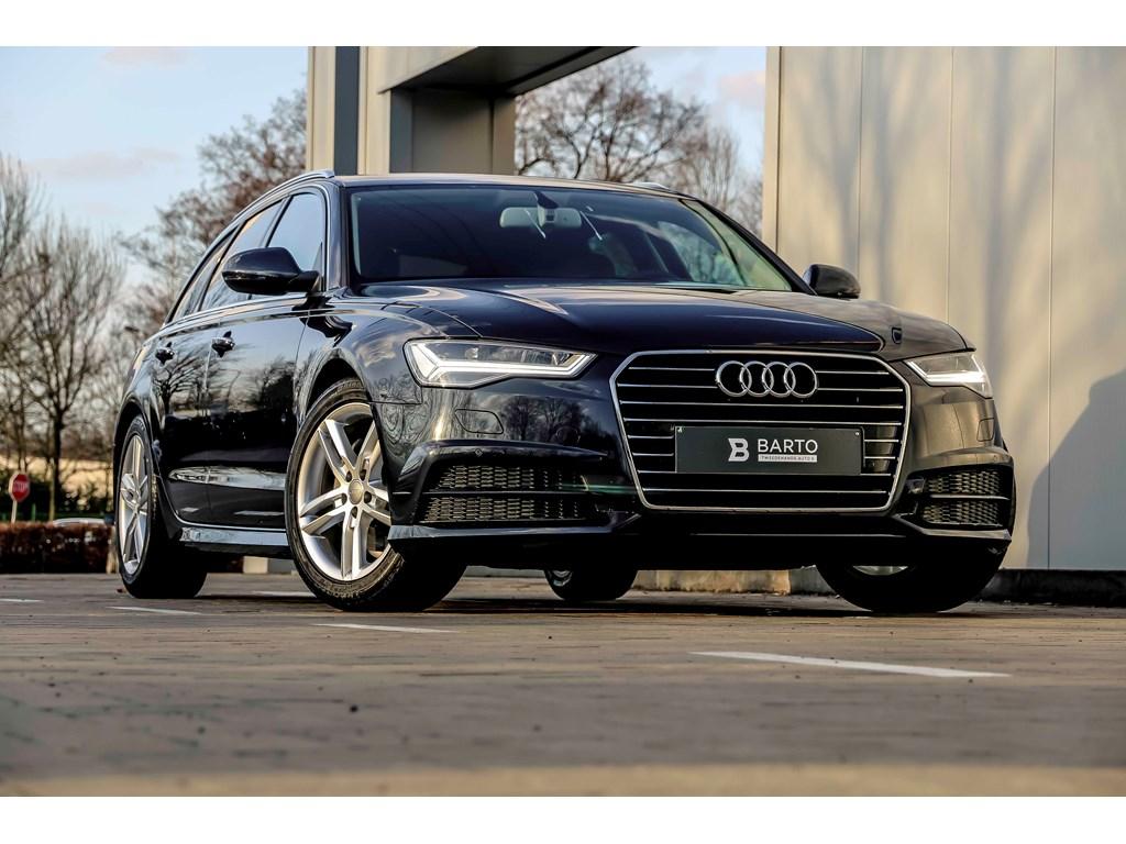 Tweedehands te koop: Audi A6 Blauw - 190pk - Luchtvering - Lederen Sportzetels incl Verwarming - Donker glas - Camera -