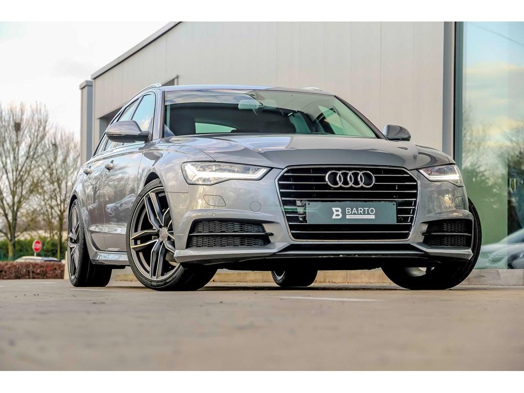 Tweedehands te koop: Audi A6 Grijs - 190pk - 20 wielen - Luchtvering - Lederen Sportzetels elect verst Full LED- Camera -