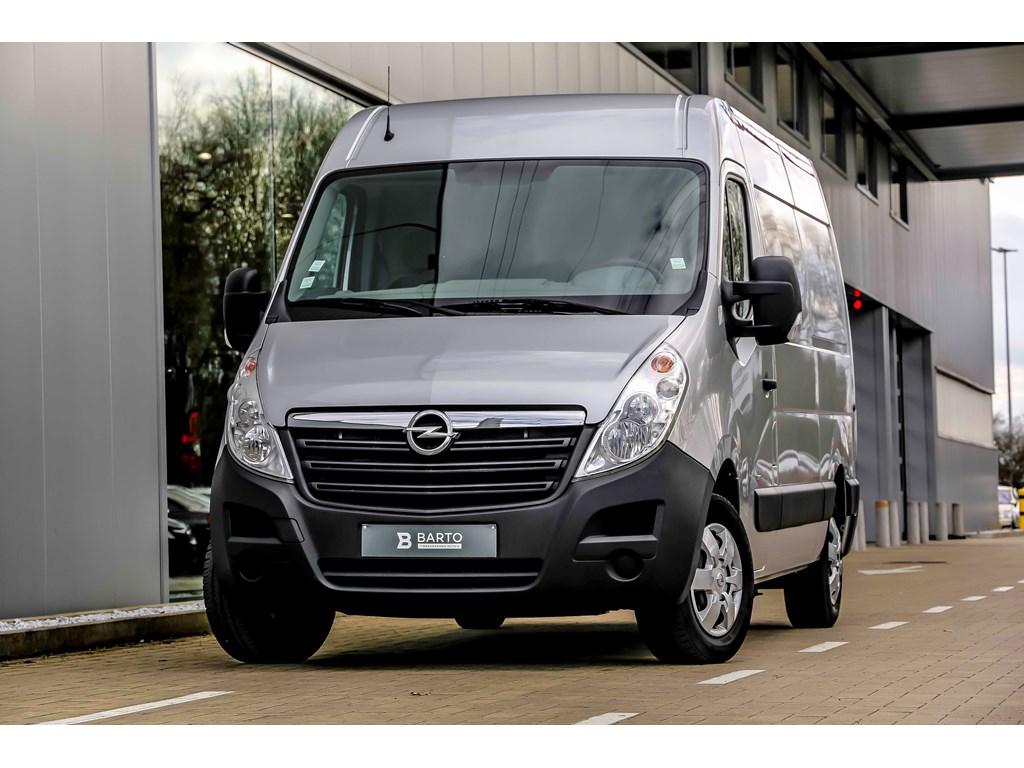 Tweedehands te koop: Opel Movano Zilver - 23d 125pk - L2H2 - Airco - Bluetooth - houten wandenvloer -