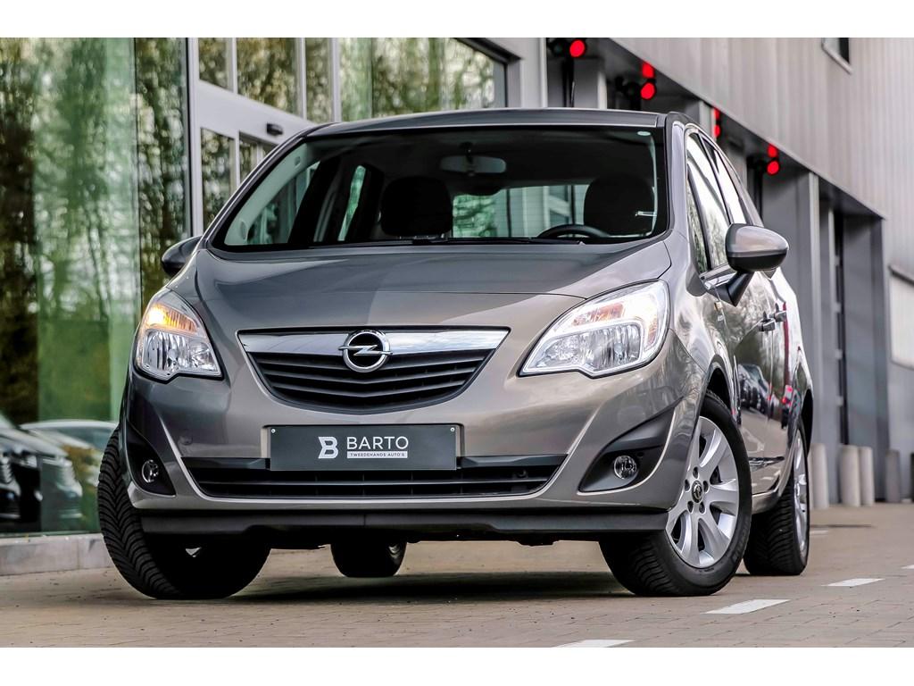 Tweedehands te koop: Opel Meriva Bruin - 14b 100pk - Airco - Parkeersens - Trekhaak -