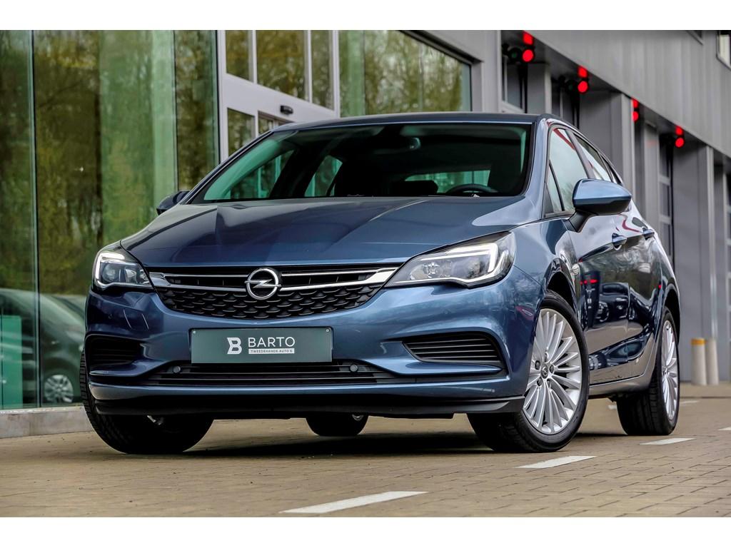 Tweedehands te koop: Opel Astra Blauw - 14b 100pk - Navi - Airco - Parkeersens va - Auto Lichten - Regensens -