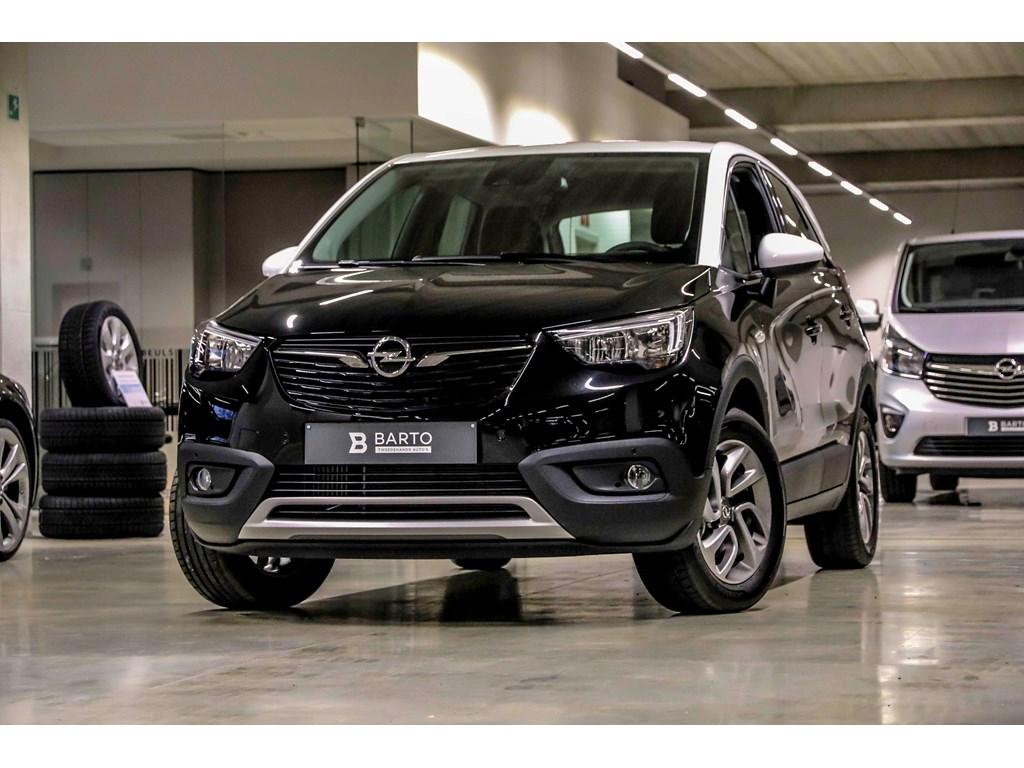 Tweedehands te koop: Opel Crossland X Zwart - 12T - Autom- 5j waarb - Navi - Camera - Winterpack