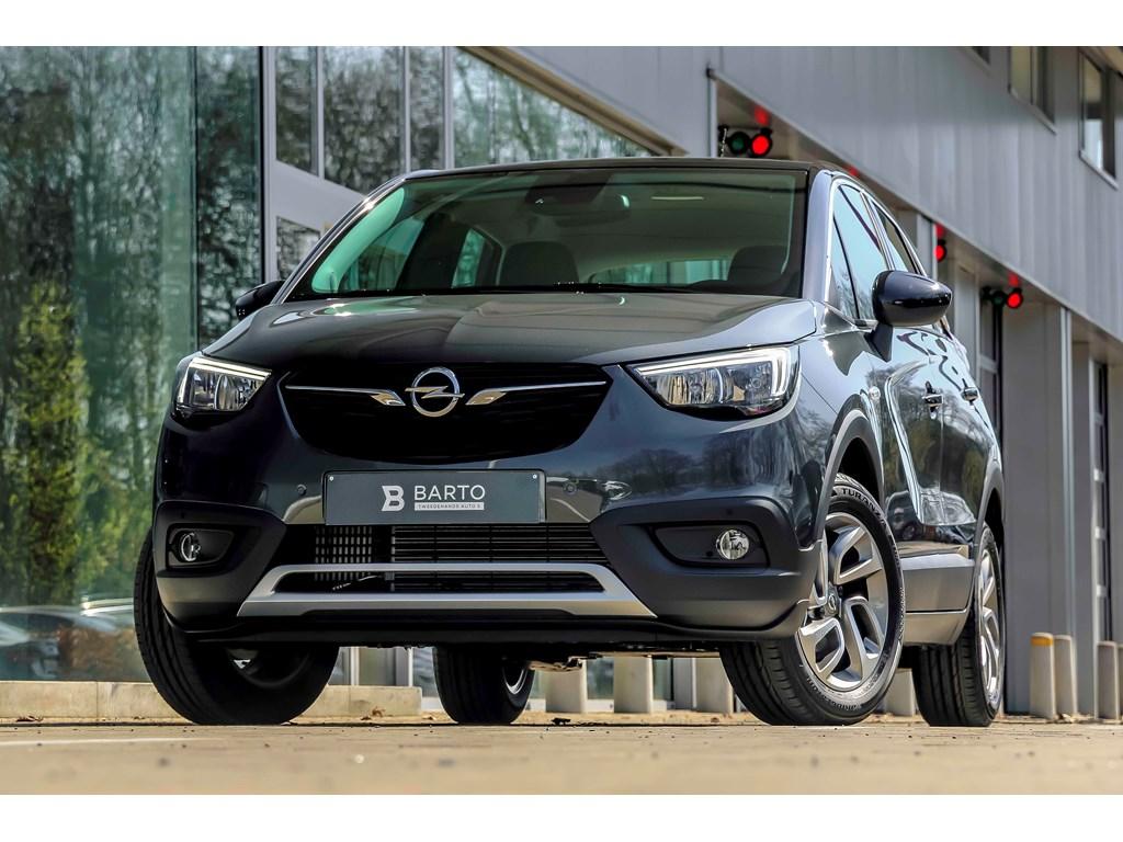 Tweedehands te koop: Opel Crossland X Grijs - 12T - Automaat - Navi - Camera - 5 jaar waarborg - Winterpack