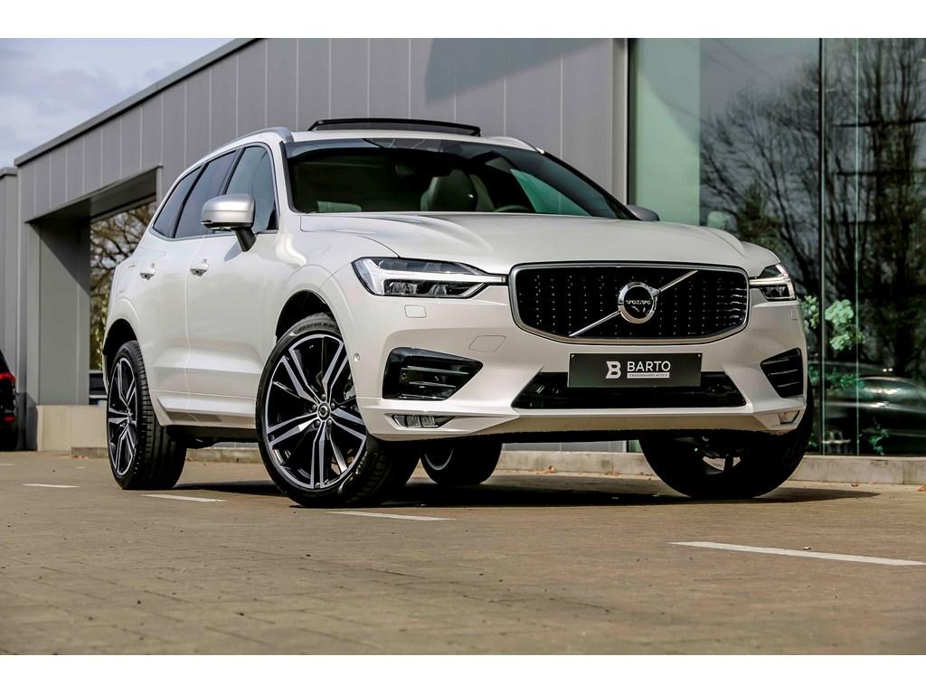 Tweedehands te koop: Volvo XC60 Wit - R-Design - 21 - Pano - Luchtvering - 360 camera - IntelliSafe - NIEUW