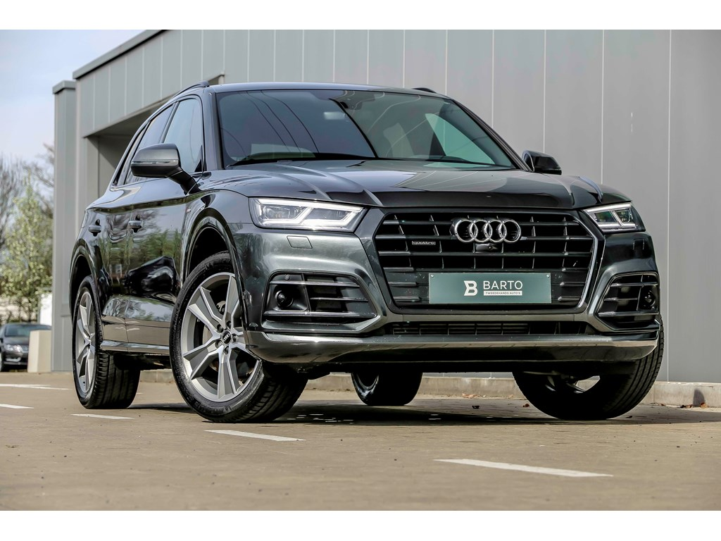 Tweedehands te koop: Audi Q5 New Zwart - 20 TFSI QUATTRO - S line - LED - Virt Cockpit - ACC - 360 Camera - Head up - Shadow line