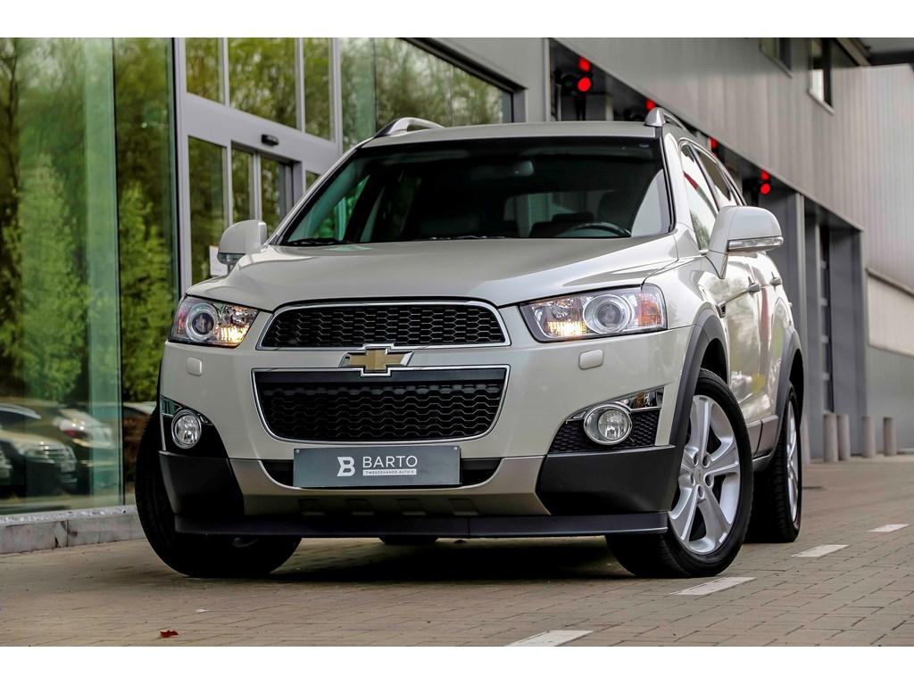 Tweedehands te koop: Chevrolet Captiva Wit - 22D 185pk - Automaat - 4x4 - 7p - Xenon - Leder -