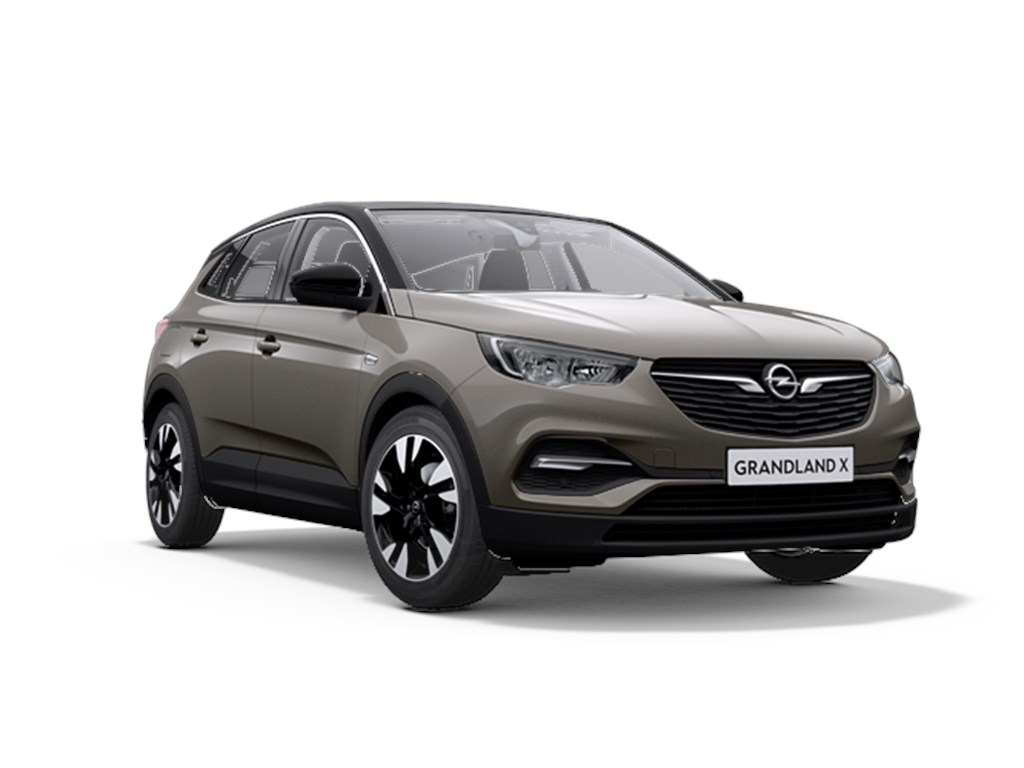 Opel-Grandland-X-Grijs-12-Turbo-130pk-Automaat-6-Innovation-Nieuw-Navigatie-Parkeersensoren-Elektr-koffer-