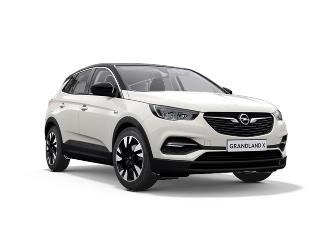 Tweedehands te koop: Opel Grandland X Wit - 12 Benz 130pk Automaat 6 Innovation - Nieuw - Navigatie - Parkeersensoren - Elektr koffer -