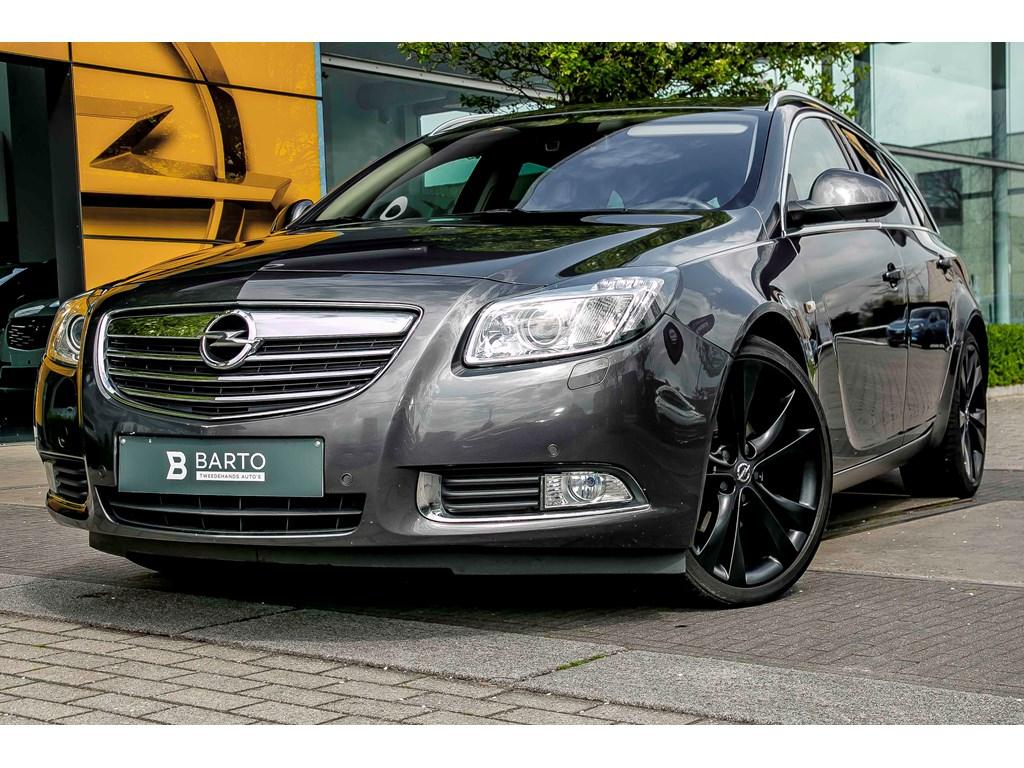 Tweedehands te koop: Opel Insignia Anthraciet - 20d 160pk - Erg Leder - Xenon - Flexride - 20 - Auto Airco -