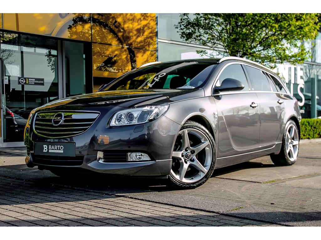Tweedehands te koop: Opel Insignia Anthraciet - 20d 130pk - Navi - Erg Leder - Xenon - OPC Line - FLEXride -