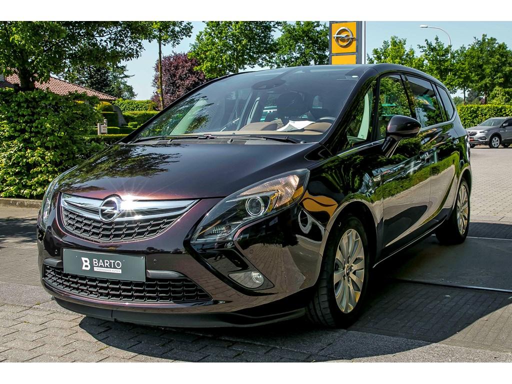 Tweedehands te koop: Opel Zafira Tourer Bruin - 14b 140pk - Panoramisch dakvoorruit - Navigatie - Parkeersensoren va -