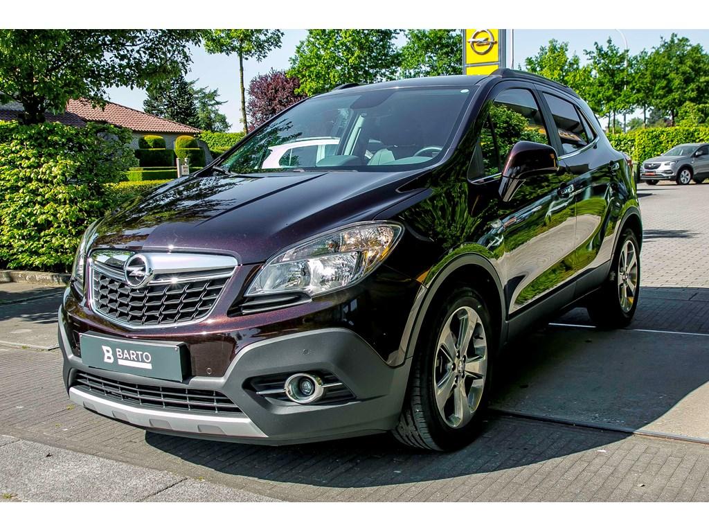Tweedehands te koop: Opel Mokka Bruin - 17d 130pk - Leder - Navigatie - Auto Airco -