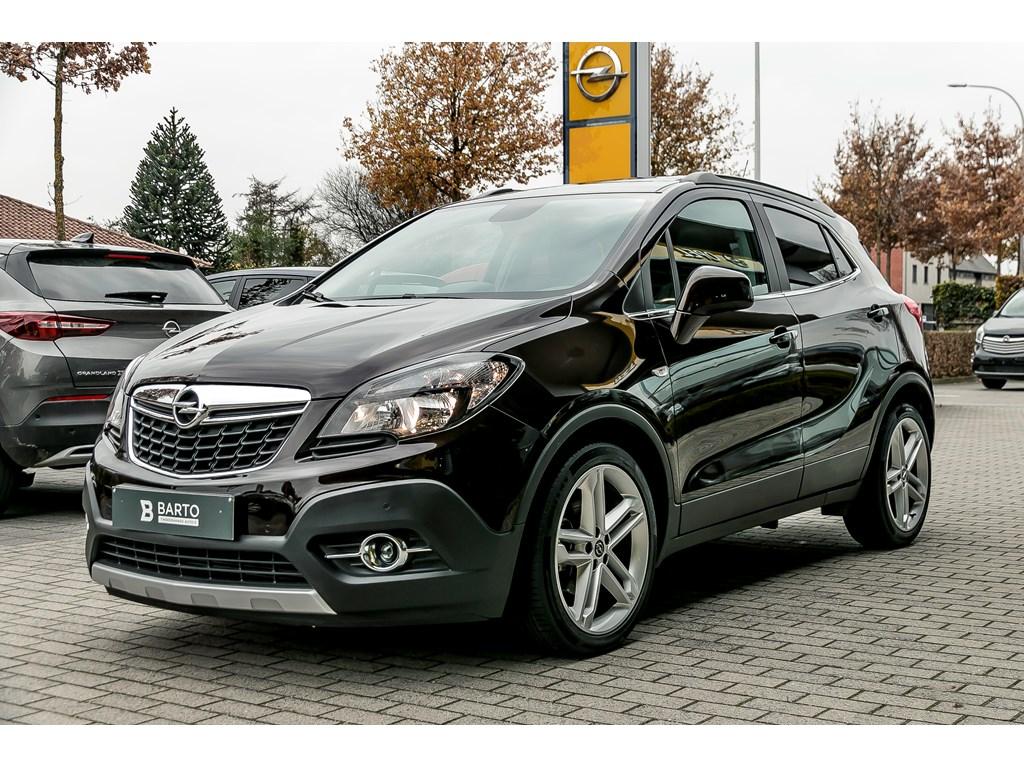 Tweedehands te koop: Opel Mokka Bruin - 14b 140pk - Open Dak - Leder - Navi - Trekhaak -