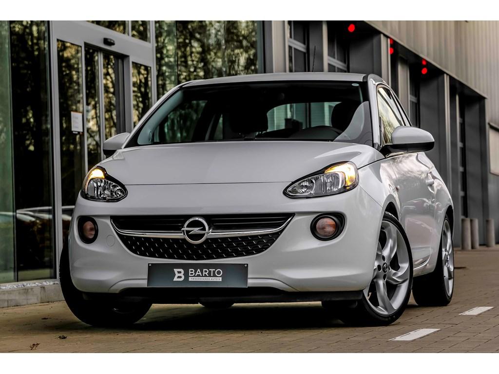 Tweedehands te koop: Opel ADAM Wit - 12b 70pk - 18 - Weinig kms - 1 jaar volledige garantie