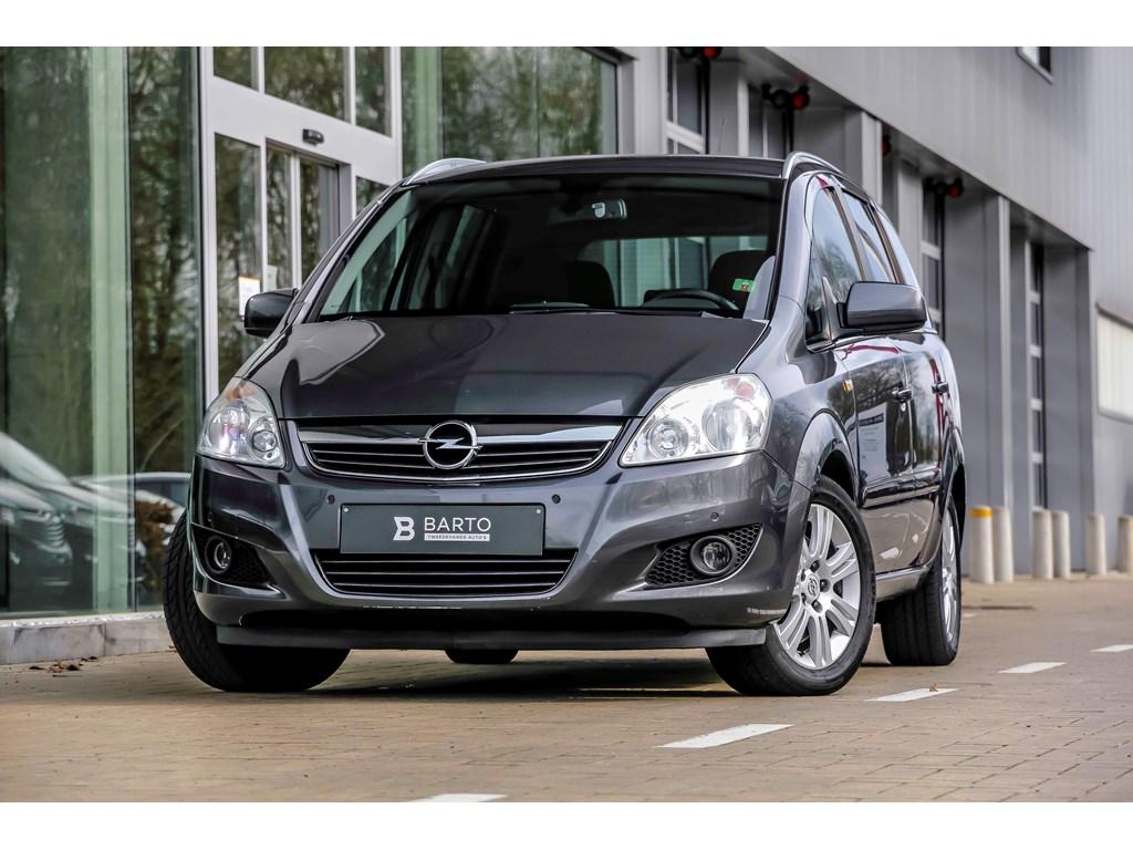 Tweedehands te koop: Opel Zafira Anthraciet - 17d 110pk - Auto Airco - Navi - Cruisectrl - 7 zit - 1 jaar volledige garantie