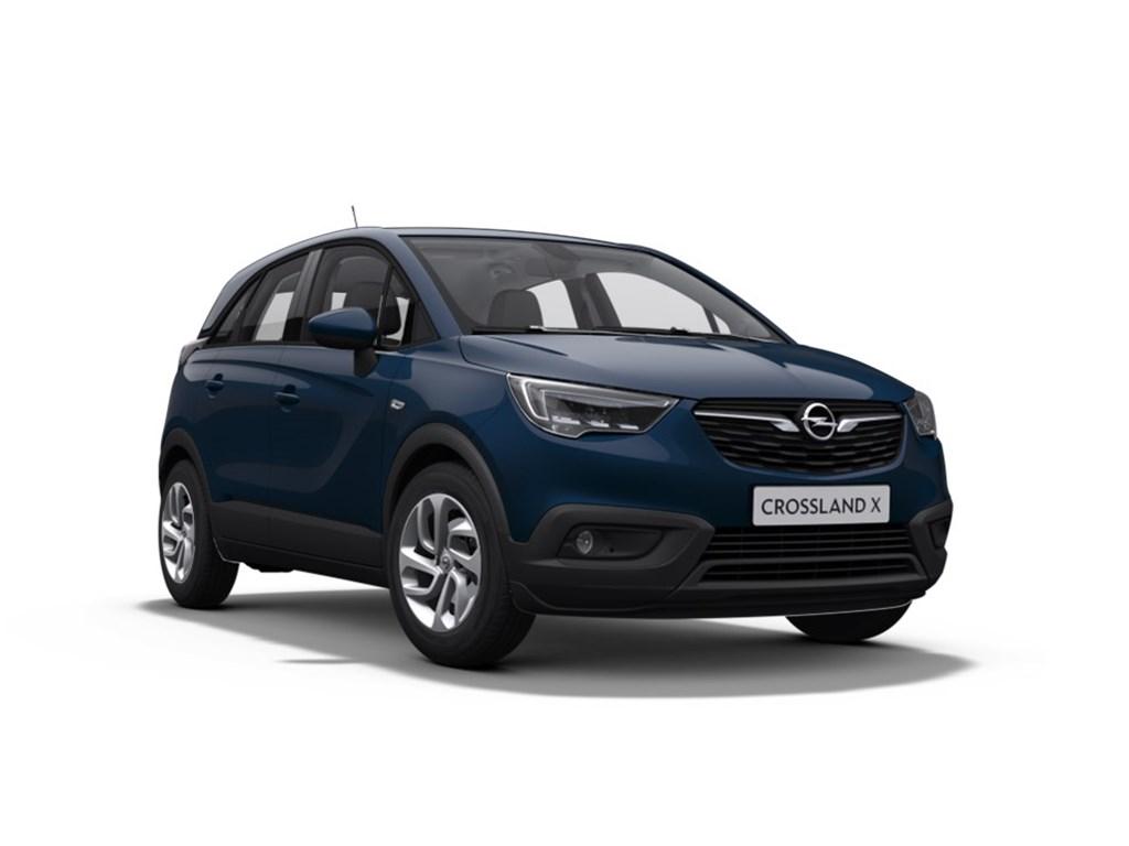 Tweedehands te koop: Opel Crossland X Blauw - Edition 12 Benz manueel 5 - 81pk - Nieuw