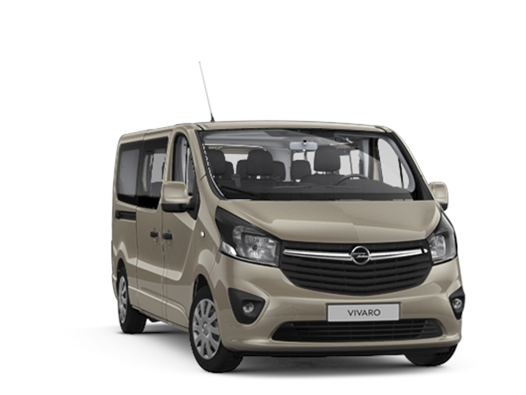 Tweedehands te koop: Opel Vivaro Bruin - Combi L2H1 16 CDTi 125pk - 8 plaatsen - Nieuw - Navi - Achteruitrijcamera -