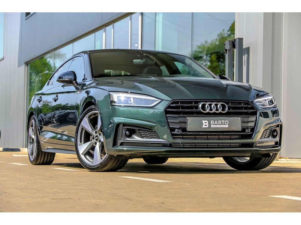 Tweedehands te koop: Audi A5 New Groen - S-line - Pano dak - Pack Tour - Matrix - BO - Electr TH - 19 wielen