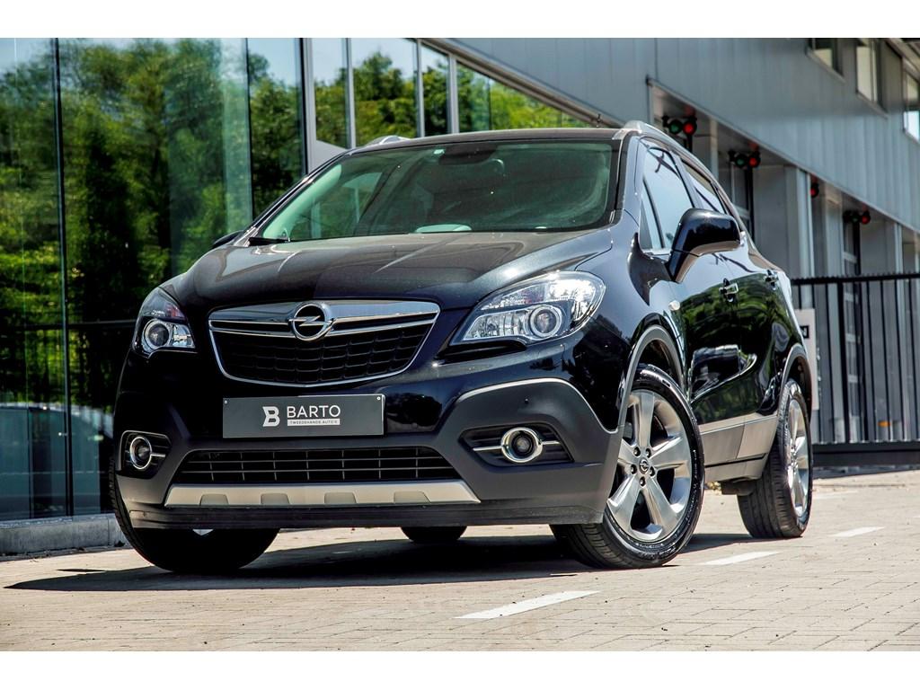 Tweedehands te koop: Opel Mokka Zwart - 14b 140pk - 4x4 - Navi - Camera - Parkeersens va -