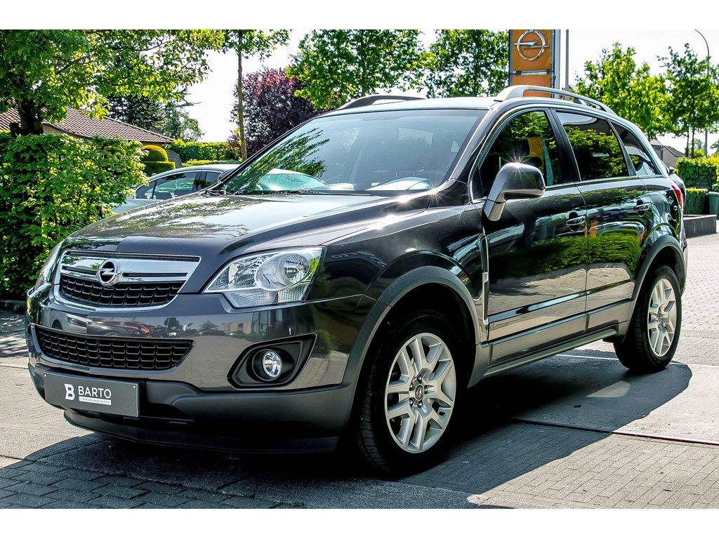 Tweedehands te koop: Opel Antara Grijs - 22d 163pk - Navi - Leder - Trekhaak - Auto Airco -