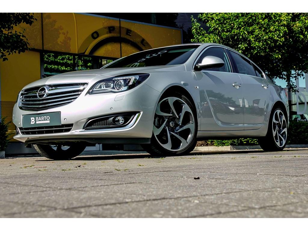 Tweedehands te koop: Opel Insignia Zilver - 16b 170pk - Erg Leder - Navi - OPC interieur - 20 -