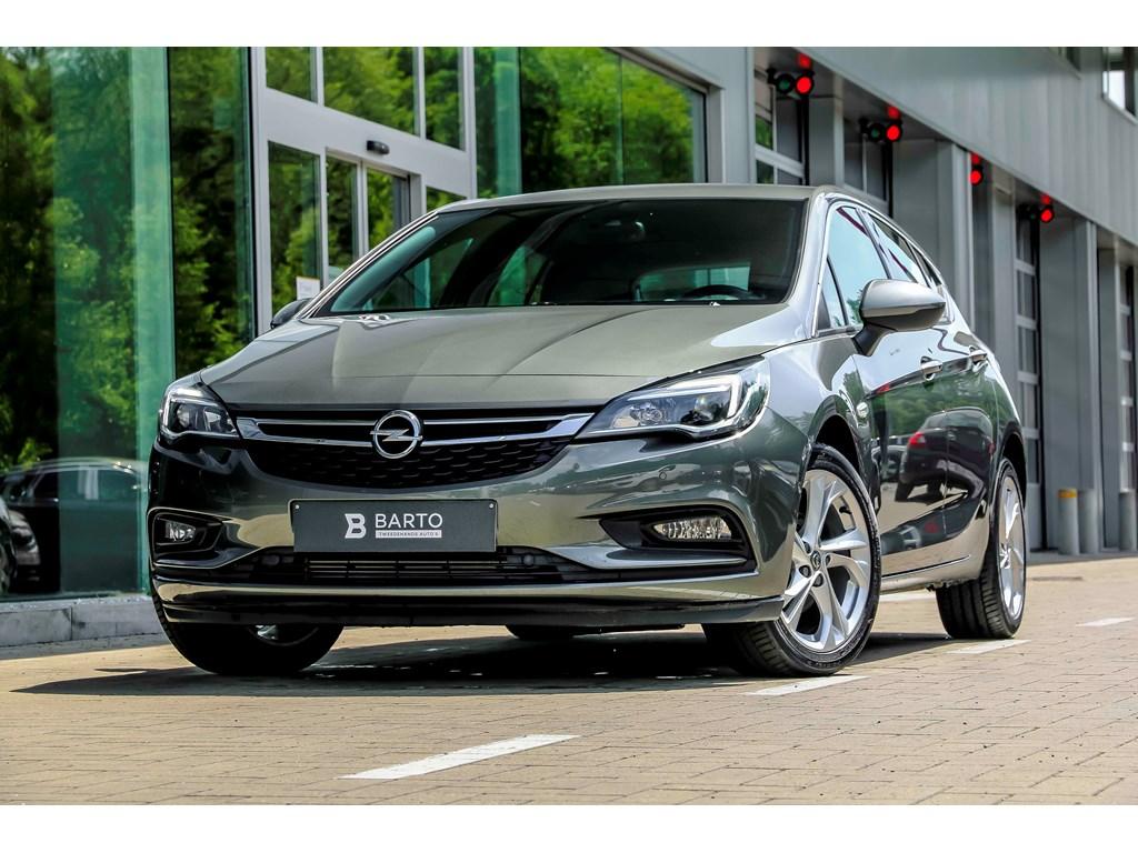 Opel-Astra-Grijs-14b-125pk-Navi-Dode-hoek-Camera-Offlane-