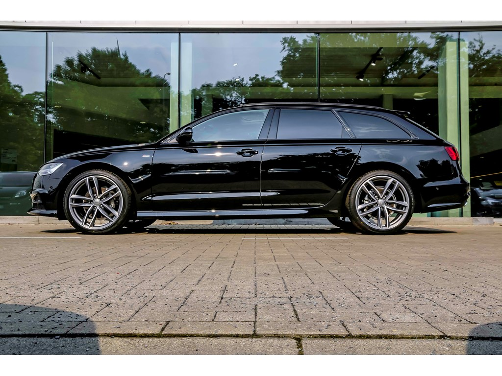 Tweedehands te koop: Audi A6 Zwart - NIEUW - Full S line - Pano dak - 20 wielen - Black Edition - Bose Sound -