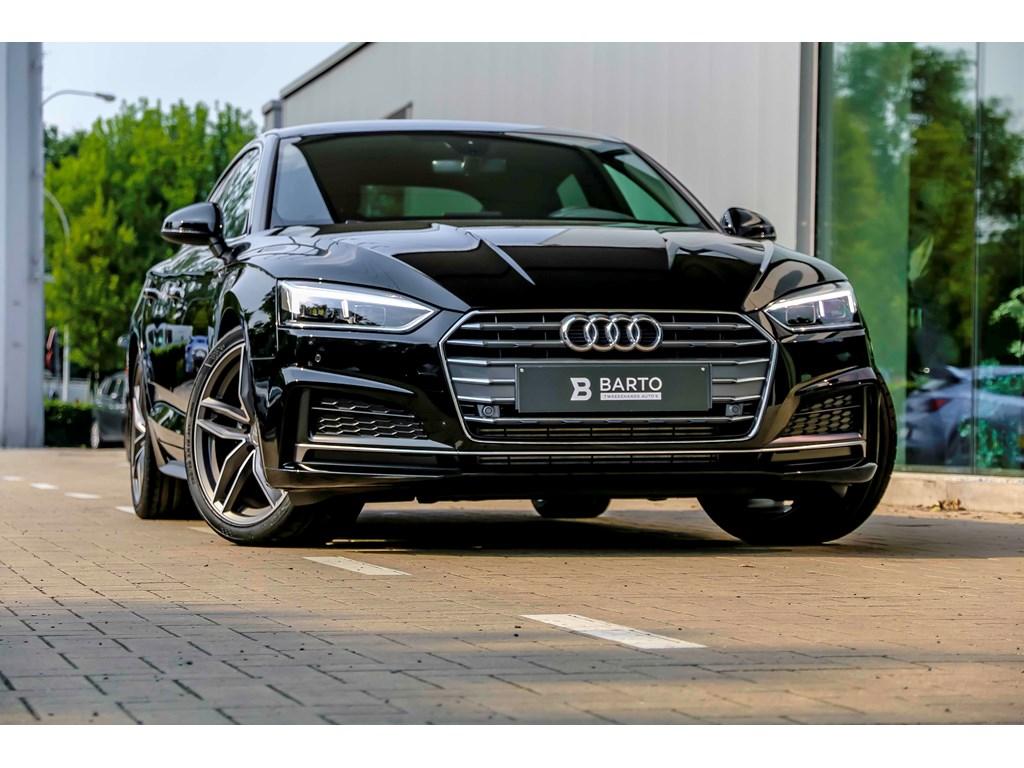 Tweedehands te koop: Audi A5 New Zwart - 20 TFSI Ultra 190pk - Full S line - Full LED - 19 alu velgen - donkere ramen