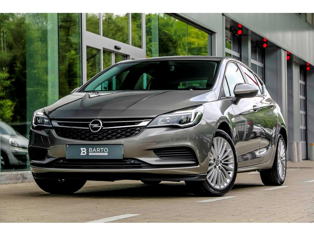 Opel-Astra-Grijs-10Turbo-benz-105pk-Navi-Airco-Bluetooth-Parkeersens-va-