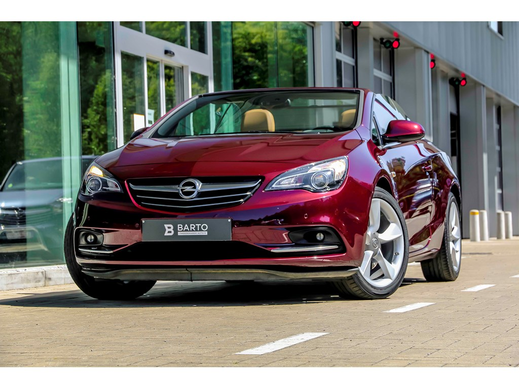 Tweedehands te koop: Opel Cascada Bordeaux - 16b 170pk - Automaat - Premium Leder - Camera - Navi -