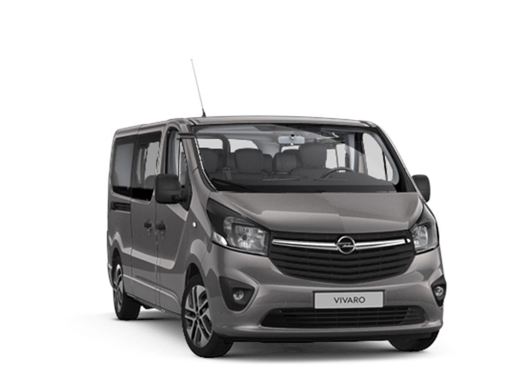 Tweedehands te koop: Opel Vivaro Grijs - Tourer Combi L2H1 16 CDTi 146pk - 6 plaatsen - Nieuw - Navi - Achteruitrijcamera - Leder -