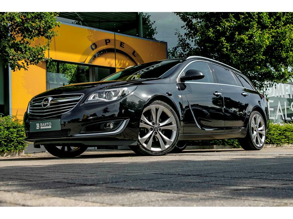 Tweedehands te koop: Opel Insignia Zwart - 20d 140pk - Xenon - Erg Leder - Navi - 20 -