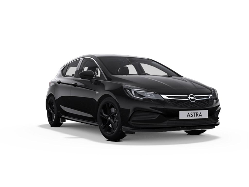 Tweedehands te koop: Opel Astra Zwart - 5-Deurs 14 Turbo Benz 125pk - OPC Line - Nieuw