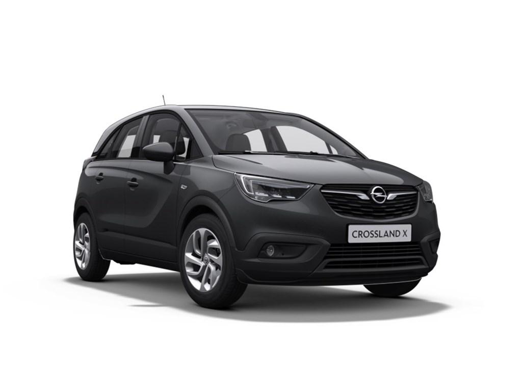 Tweedehands te koop: Opel Crossland X Anthraciet - Edition 12 Benz manueel 5 - 81pk - Nieuw
