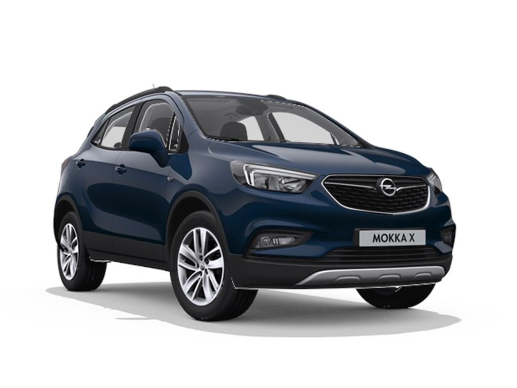 Tweedehands te koop: Opel Mokka Blauw - X Edition 14 Turbo Automaat - Nieuw - Navigatie - Parkeersensoren