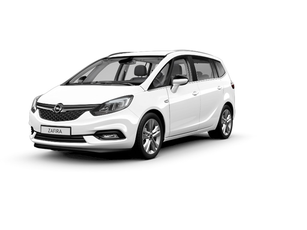 Tweedehands te koop: Opel Zafira Wit - 14 Turbo 120pk Benz Innovation - Nieuw - Navigatie - Camera