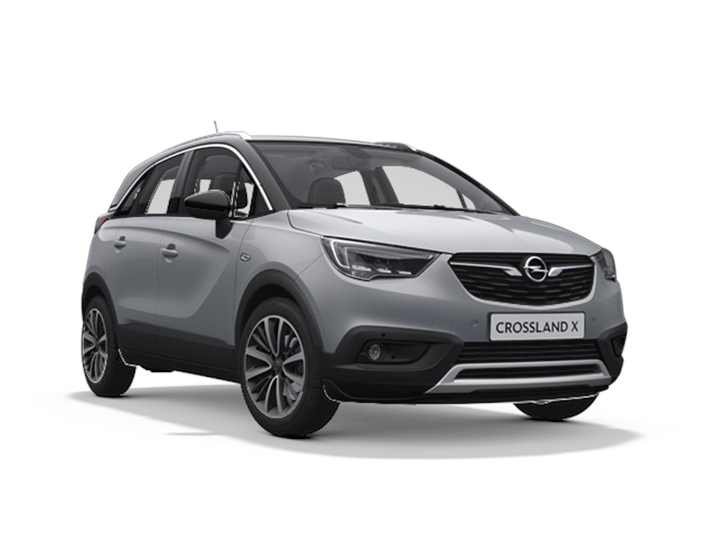 Tweedehands te koop: Opel Crossland X Grijs - Innovation - 12 Turbo benz 81pk Nieuw - Navi - Achteruitrijcamera - Head up display -