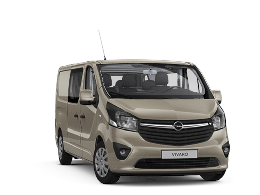 Opel-Vivaro-Bruin-Dubbele-Cabine-Sportive-L2H1-16-CDTi-125pk-Navi-6pl-Nieuw-