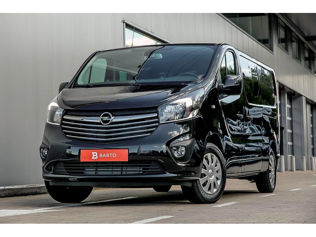 Tweedehands te koop: Opel Vivaro Zwart - Dub Cabine Sportive L2H1 16 CDTi 125pk - 5pl - 27269 Euro BTW32995 BTW incl - Nieuw