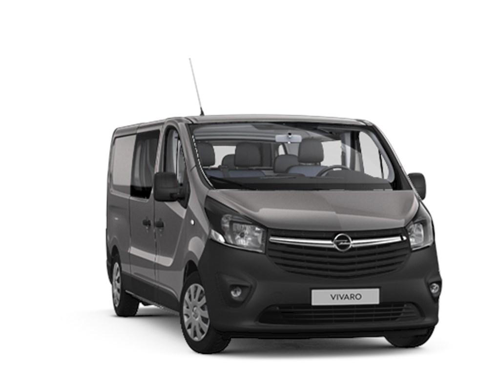 Tweedehands te koop: Opel Vivaro Grijs - Dubbele Cabine Edition L2H1 16 CDTi 125pk - Navi - 6pl - Nieuw