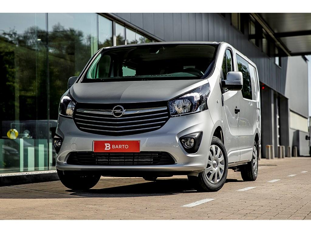 Tweedehands te koop: Opel Vivaro Zilver - Dubbele Cabine 5pl L1H1 MTM2700 16 CDTI 125pk - 21627 euro BTW 26169 Euro BTW incl
