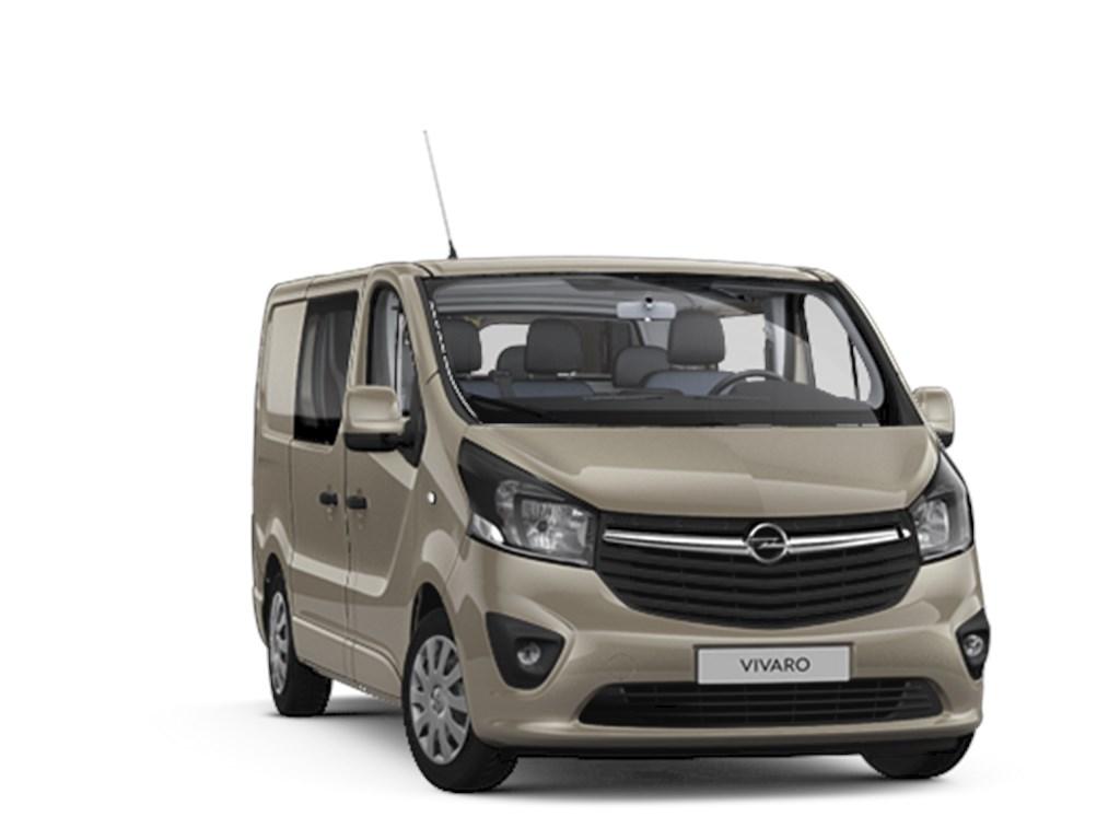 Opel-Vivaro-Bruin-Dubbele-Cabine-Edition-L1H1-16-CDTi-125pk-Navi-5pl-Nieuw-