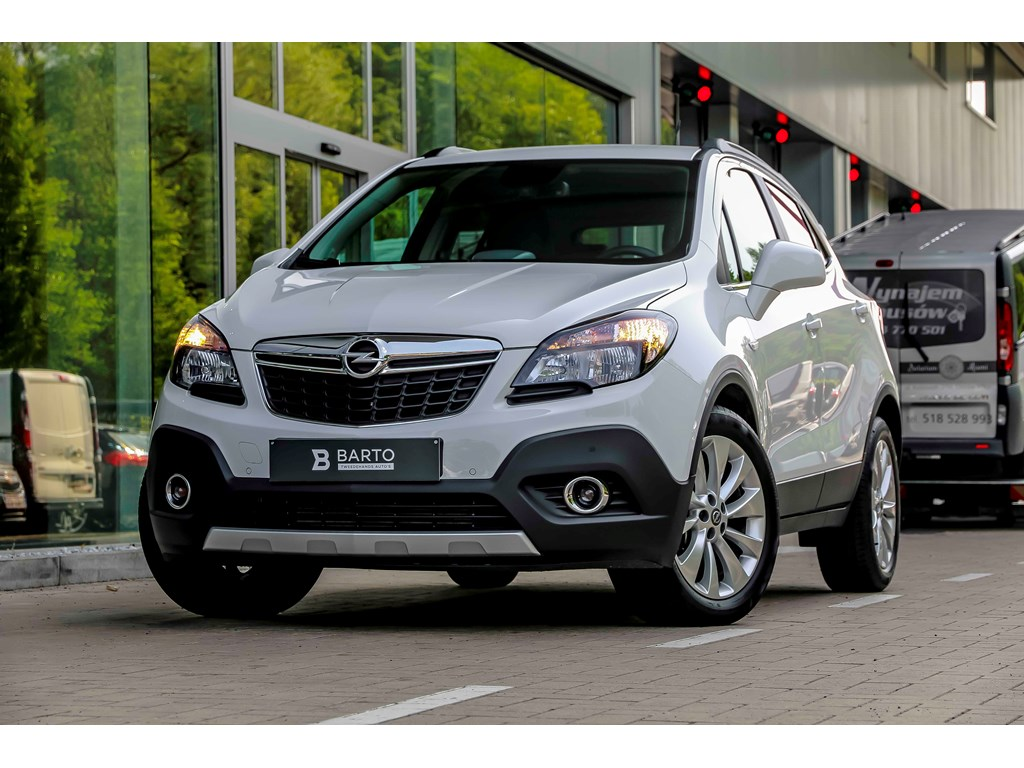 Tweedehands te koop: Opel Mokka Wit - 14b 140pk - Navi - Camera - Auto Airco - Bluetooth -